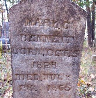 BENNETT, MARY C. - Heard County, Georgia | MARY C. BENNETT - Georgia Gravestone Photos