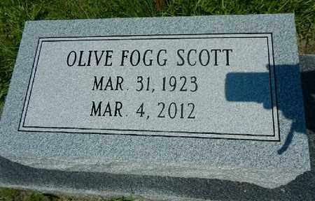 FOGG SCOTT, OLIVE MARIE - Lowndes County, Georgia | OLIVE MARIE FOGG SCOTT - Georgia Gravestone Photos