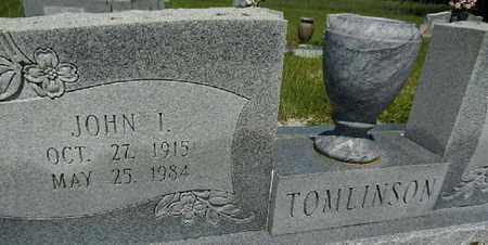 TOMLINSON, JR, JOHN I. - Lowndes County, Georgia | JOHN I. TOMLINSON, JR - Georgia Gravestone Photos