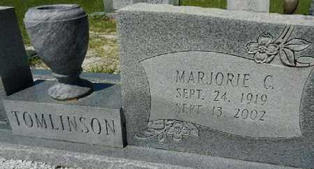 COPELAND TOMLINSON, MARJORIE LOUISE - Lowndes County, Georgia | MARJORIE LOUISE COPELAND TOMLINSON - Georgia Gravestone Photos