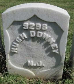 DOWNEY (VETERAN CW), HUGH (NEW) - Macon County, Georgia | HUGH (NEW) DOWNEY (VETERAN CW) - Georgia Gravestone Photos