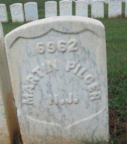 PILGER (VETERAN CW), MARTIN (NEW) - Macon County, Georgia | MARTIN (NEW) PILGER (VETERAN CW) - Georgia Gravestone Photos