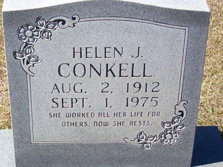 CONKELL, HELEN J. - Pickens County, Georgia | HELEN J. CONKELL - Georgia Gravestone Photos