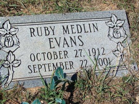 EVANS, RUBY - Pickens County, Georgia | RUBY EVANS - Georgia Gravestone Photos