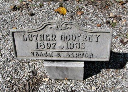 GODFREY, LUTHER - Pickens County, Georgia   LUTHER GODFREY - Georgia Gravestone Photos