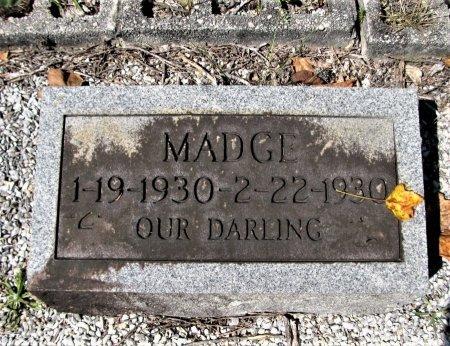 GODFREY, MADGE - Pickens County, Georgia | MADGE GODFREY - Georgia Gravestone Photos