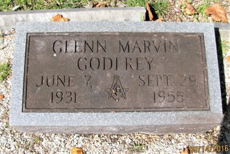 GODREY, GLENN MARVIN - Pickens County, Georgia | GLENN MARVIN GODREY - Georgia Gravestone Photos