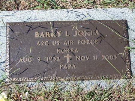 JONES (VETERAN KOR), BARRY L. (NEW) - Pickens County, Georgia | BARRY L. (NEW) JONES (VETERAN KOR) - Georgia Gravestone Photos