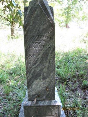 KELLY, RACHEL ELIZABETH - Pickens County, Georgia | RACHEL ELIZABETH KELLY - Georgia Gravestone Photos