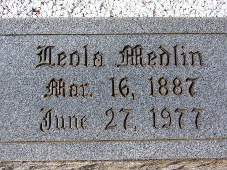 ANDERSON MEDLIN, BERTHA LEOLA - Pickens County, Georgia   BERTHA LEOLA ANDERSON MEDLIN - Georgia Gravestone Photos
