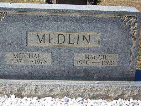 MEDLIN, MAGGIE - Pickens County, Georgia   MAGGIE MEDLIN - Georgia Gravestone Photos