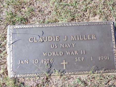 MILLER (VETERAN WWII), CLAUDIE J. (NEW) - Pickens County, Georgia   CLAUDIE J. (NEW) MILLER (VETERAN WWII) - Georgia Gravestone Photos