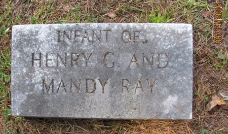 RAY, INFANT - Pickens County, Georgia | INFANT RAY - Georgia Gravestone Photos