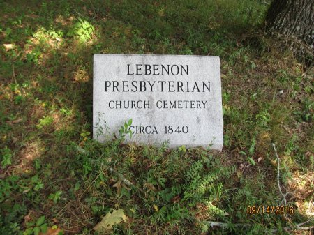 *LEBANON, CEMETERY SIGN - Pickens County, Georgia | CEMETERY SIGN *LEBANON - Georgia Gravestone Photos