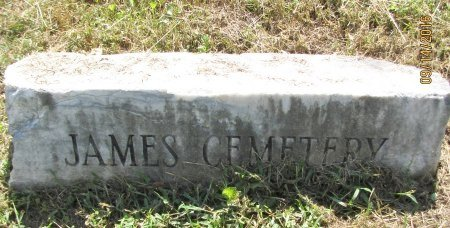 *JAMES, CEMETERY SIGN - Pickens County, Georgia | CEMETERY SIGN *JAMES - Georgia Gravestone Photos