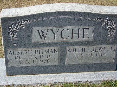 """WYCHE, ALBERT PITMAN """"PITT"""" - Pickens County, Georgia   ALBERT PITMAN """"PITT"""" WYCHE - Georgia Gravestone Photos"""