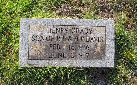 DAVIS, HENRY GRADY - Stephens County, Georgia | HENRY GRADY DAVIS - Georgia Gravestone Photos