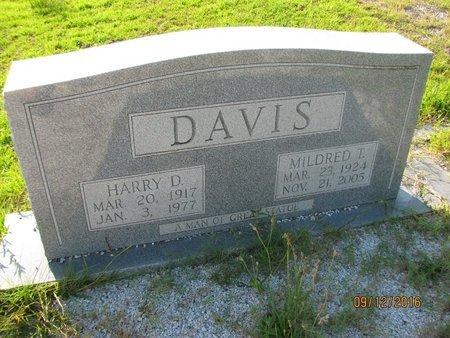 DAVIS, HARRY DORSEY - Stephens County, Georgia | HARRY DORSEY DAVIS - Georgia Gravestone Photos