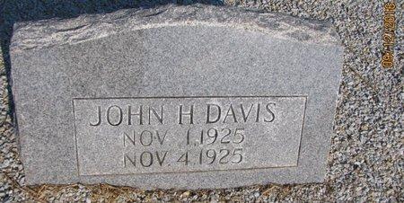 DAVIS, JOHN H - Stephens County, Georgia | JOHN H DAVIS - Georgia Gravestone Photos