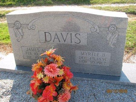 BLACK DAVIS, MYRTLE - Stephens County, Georgia | MYRTLE BLACK DAVIS - Georgia Gravestone Photos