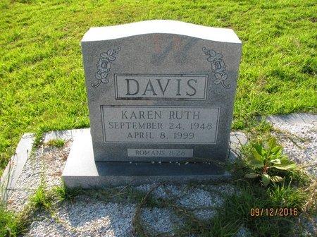 DAVIS, KAREN RUTH - Stephens County, Georgia | KAREN RUTH DAVIS - Georgia Gravestone Photos