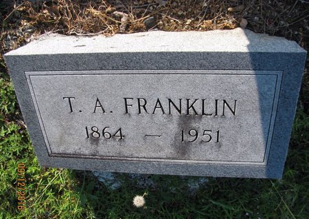 FRANKLIN, T A - Stephens County, Georgia | T A FRANKLIN - Georgia Gravestone Photos