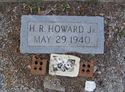 HOWARD, JR, H R - Stephens County, Georgia | H R HOWARD, JR - Georgia Gravestone Photos