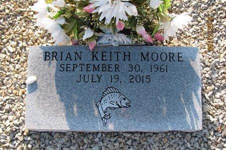 MOORE, BRIAN KEITH - Stephens County, Georgia | BRIAN KEITH MOORE - Georgia Gravestone Photos