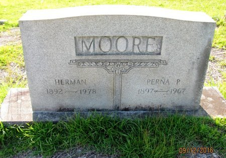 MOORE, PERNA - Stephens County, Georgia | PERNA MOORE - Georgia Gravestone Photos
