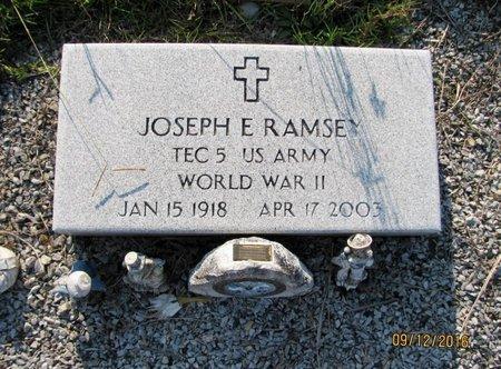 RAMSEY (VETERAN WWII), JOSEPH E (NEW) - Stephens County, Georgia | JOSEPH E (NEW) RAMSEY (VETERAN WWII) - Georgia Gravestone Photos