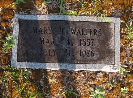 WALTERS, MARY H - Stephens County, Georgia | MARY H WALTERS - Georgia Gravestone Photos
