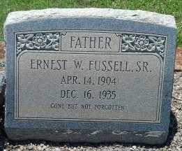 FUSSELL, ERNEST W. - Sumter County, Georgia | ERNEST W. FUSSELL - Georgia Gravestone Photos