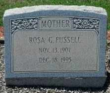 FUSSELL, ROSA - Sumter County, Georgia | ROSA FUSSELL - Georgia Gravestone Photos