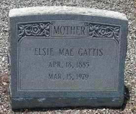 GATTIS, ELSIE MAE - Sumter County, Georgia | ELSIE MAE GATTIS - Georgia Gravestone Photos