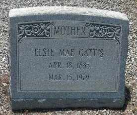 YARBROUGH GATTIS, ELSIE MAE - Sumter County, Georgia | ELSIE MAE YARBROUGH GATTIS - Georgia Gravestone Photos