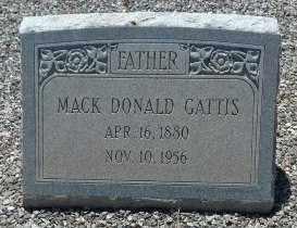 GATTIS, MACK DONALD - Sumter County, Georgia | MACK DONALD GATTIS - Georgia Gravestone Photos