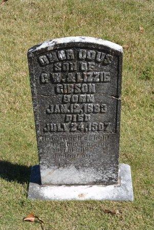 GIBSON, OMAR DOUS - Towns County, Georgia   OMAR DOUS GIBSON - Georgia Gravestone Photos