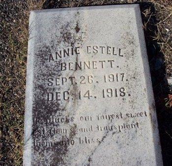 BENNETT, ANNIE ESTELL - Troup County, Georgia | ANNIE ESTELL BENNETT - Georgia Gravestone Photos