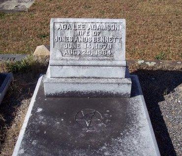 ADAMSON BENNETT, ADA LEE - Troup County, Georgia | ADA LEE ADAMSON BENNETT - Georgia Gravestone Photos
