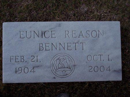 REASON BENNETT, EUNICE A. - Troup County, Georgia   EUNICE A. REASON BENNETT - Georgia Gravestone Photos