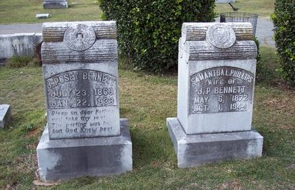 BENNETT, JAMES POSEY - Troup County, Georgia | JAMES POSEY BENNETT - Georgia Gravestone Photos
