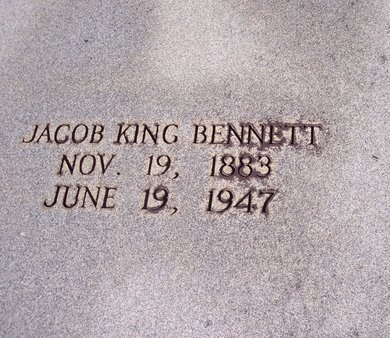 BENNETT, JACOB KING - Troup County, Georgia | JACOB KING BENNETT - Georgia Gravestone Photos