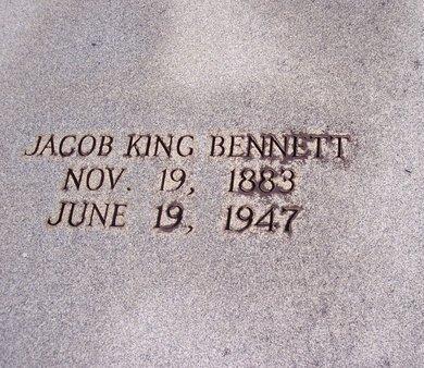 BENNETT, JACOB KING - Troup County, Georgia | JACOB KING BENNETT - Georgia Gravestone Photos
