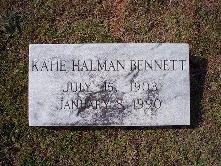 HALMAN BENNETT, KATIE BELL - Troup County, Georgia | KATIE BELL HALMAN BENNETT - Georgia Gravestone Photos