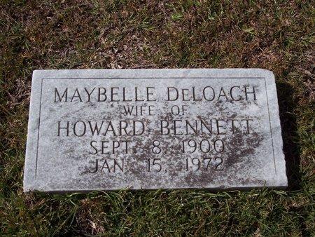 DELOACH BENNETT, MAYBELLE - Troup County, Georgia   MAYBELLE DELOACH BENNETT - Georgia Gravestone Photos