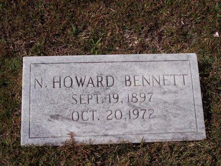 BENNETT, N. HOWARD - Troup County, Georgia   N. HOWARD BENNETT - Georgia Gravestone Photos
