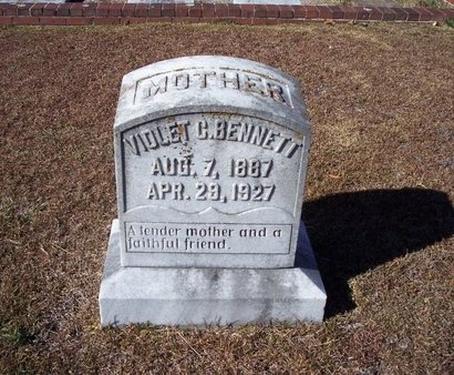 BENNETT, VIOLET C. - Troup County, Georgia | VIOLET C. BENNETT - Georgia Gravestone Photos