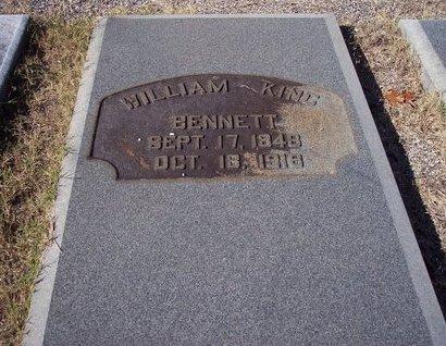 BENNETT, WILLIAM KING - Troup County, Georgia | WILLIAM KING BENNETT - Georgia Gravestone Photos