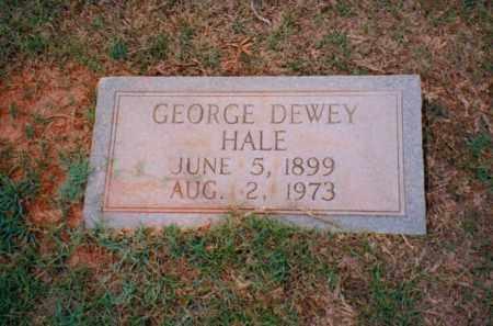 HALE, GEORGE DEWEY - Troup County, Georgia | GEORGE DEWEY HALE - Georgia Gravestone Photos