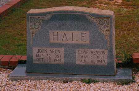 HALE, JOHN ARON - Troup County, Georgia | JOHN ARON HALE - Georgia Gravestone Photos